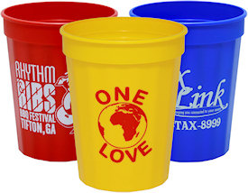 16oz fluted stadium cups custom stadium cups cheap personalized